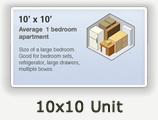 10x10 Lockers