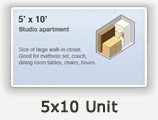 5x10 Lockers