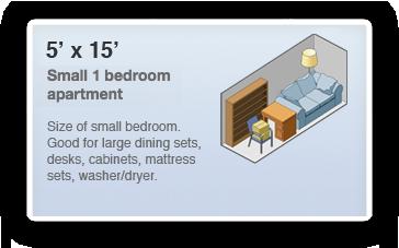 5x15 Locker Size Guide  sc 1 st  Stowaway Inc. 1-800-338-1937 & 5×15 Storage Unit | Stowaway Inc. 1-800-338-1937