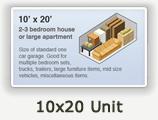 10x20 Lockers