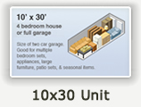 10x30 Lockers