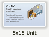 5x15 Lockers