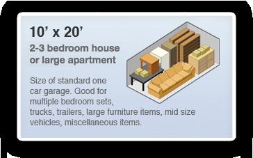 10x20 Locker Size Guide